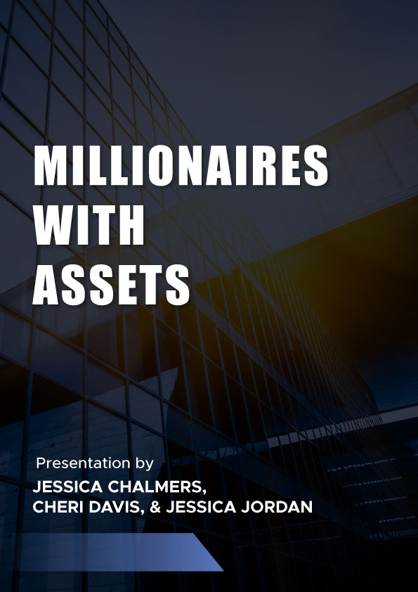 Millionaires with assets