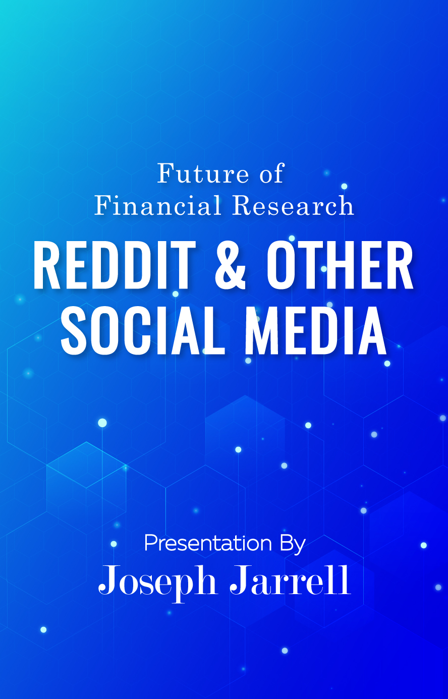 Future of Financial Research